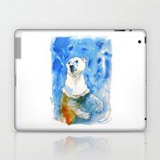 Polar Bear Inside Water Laptop & iPad Skin