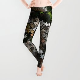 Magical Stars in the Forest Leggings
