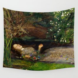 Ophelia - John Everett Millais Wall Tapestry