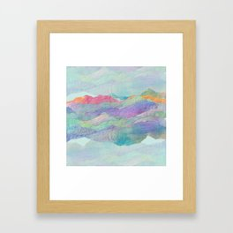 Everything Beautiful- Mountain Framed Art Print