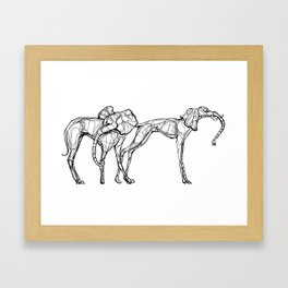 The Elegants Framed Art Print