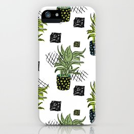 Potted House plant iPhone Case