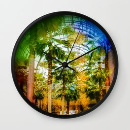 Conservatory  in the earlier WTC Wall Clock