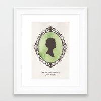 ripley Framed Art Prints featuring Ripley by JadeJonesArt