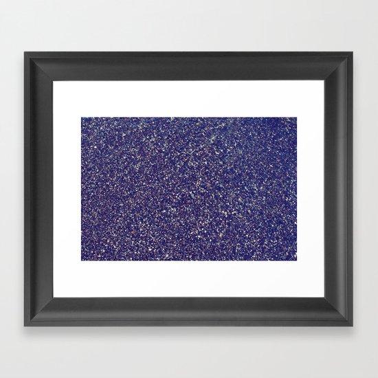 Black Sand III (Rose) Framed Art Print