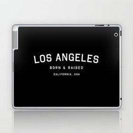 Los Angeles - CA, USA (Black Arc) Laptop & iPad Skin