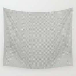 White & Grey Simulated Carbon Fiber Wall Tapestry