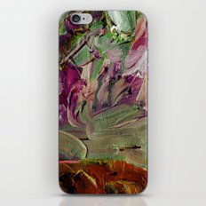 Abstract Purple Green Sky iPhone & iPod Skin