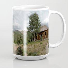 Remnants of 1883 Ironton with Hurricane Peak Beyond Coffee Mug