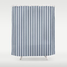 501 ORIGINAL DENIM CHAMBRAY STRIPES Shower Curtain
