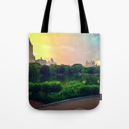 Daydream in central park Tote Bag