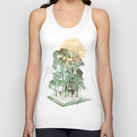 trees Tank Tops featuring Jungle Book by David Fleck