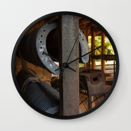 Farriers Station Wall Clock