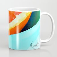 aelwen Mugs featuring Grapefast by Xchange Art Studio