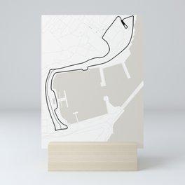Circuit de Monaco, Monte Carlo Mini Art Print
