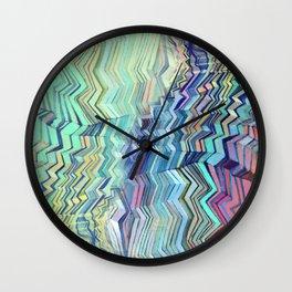 Zigzagged Wall Clock