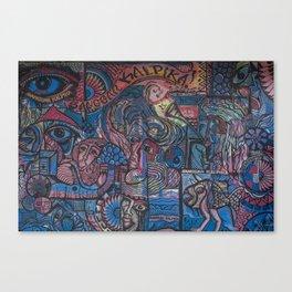 URBAN WALL V2 Canvas Print