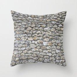 sea stone Throw Pillow