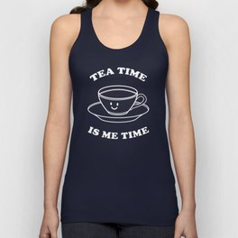 Tea Time Is Me Time Unisex Tank Top