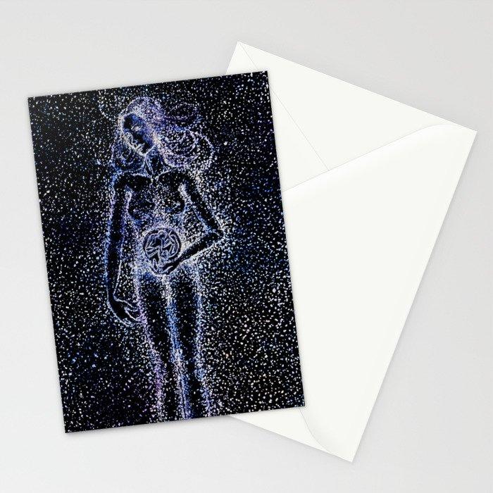 Nuit - The Starry Goddess Stationery Cards
