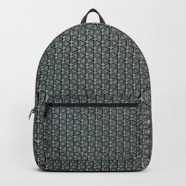 grey-pattern Backpack