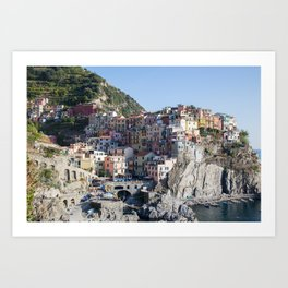 Manarola, Cinque Terre Italy Art Print