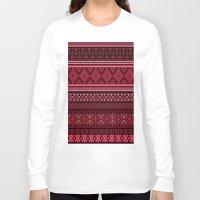 greek Long Sleeve T-shirts featuring GREEK pattern by ''CVogiatzi.