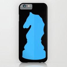 Blue Chess Piece - Knight iPhone 6s Slim Case
