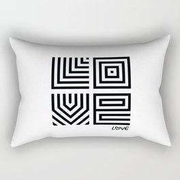 L O V E Rectangular Pillow