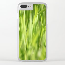 Ever Green Clear iPhone Case