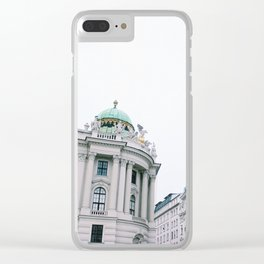 Architecture of Vienna Clear iPhone Case