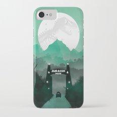 Jurassic Park Inspired Minimalist Print  iPhone 7 Slim Case