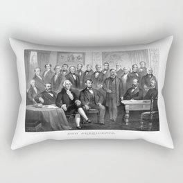 Our Presidents 1789 - 1881 Rectangular Pillow