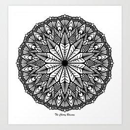 Mandala 28 Art Print
