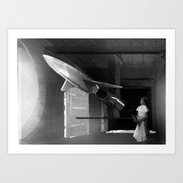 Women in Science: Hidden Figure Mary Jackson Art Print