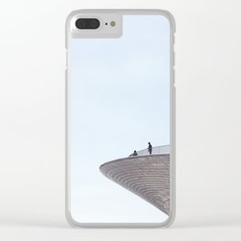 Modern Architecture Clear iPhone Case