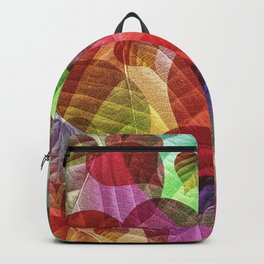 Heart Shaped Leaves Backpack