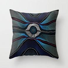 Modern Aboriginal 2 Throw Pillow