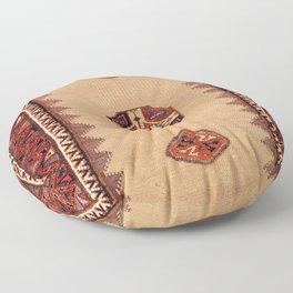 Baluch Sofreh Khorasan Northeast Persian Rug Print Floor Pillow