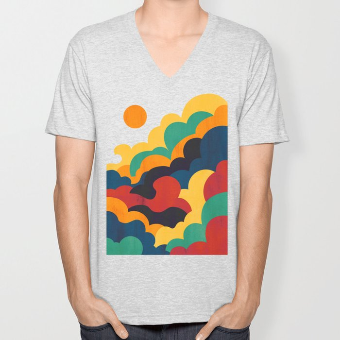 Cloud nine Unisex V-Neck