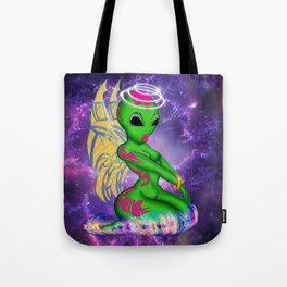 Alien Angel Tote Bag
