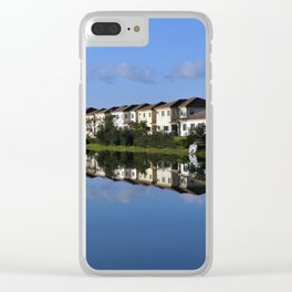 Reflections (1) Clear iPhone Case