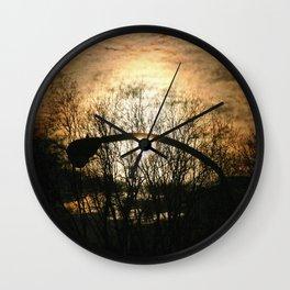 Oculus Tri Wall Clock