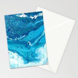 Pearlescent Shorebreak Stationery Cards