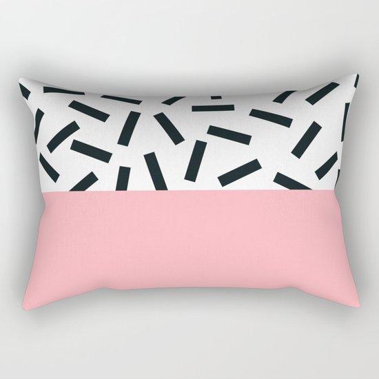 Memphis pattern 20 Rectangular Pillow