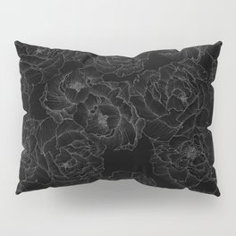 Peony Flower Pattern III Pillow Sham