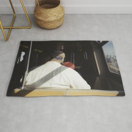 Father and son Rug