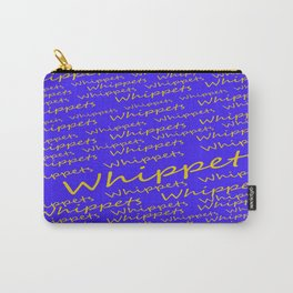 Whippets Logo Carry-All Pouch
