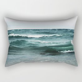 Turquoise Sea #2 Rectangular Pillow
