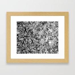 Landfill Pt. 2 Framed Art Print